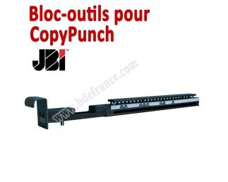 Bloc-outils pour Perforateur CopyPunch  JBI Machine à relier par anneaux