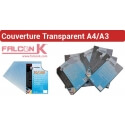 12- Couverture Transparent PVC,Mat A4 & A3