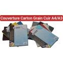 13- Couverture Carton Grain Cuir  A4 & A3