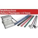 A - Multifonctions Reliure Plastiques + 4 Trous