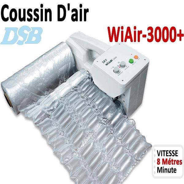 Machine de coussin gonflable  WiAiR-3000+  DSB# sac à air comprimé machines d emballage#