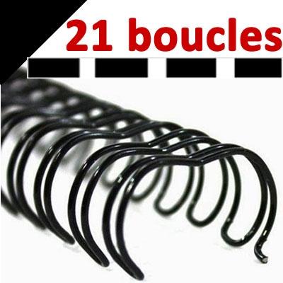 21 Boucles# Noir