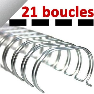 21 Boucles# Argent
