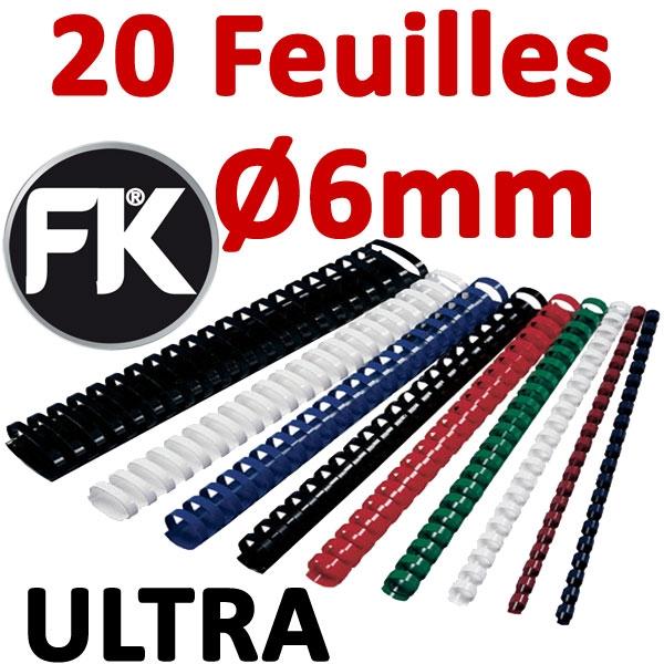 Marque FALCONK ULTRA # Ø 6mm de 10 à 20 feuilles #boite de 100pcs