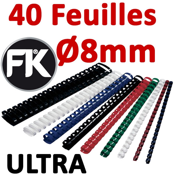 Marque ULTRA FALCONK # Ø 8mm de 21 à 40 feuilles #boite de 100pcs