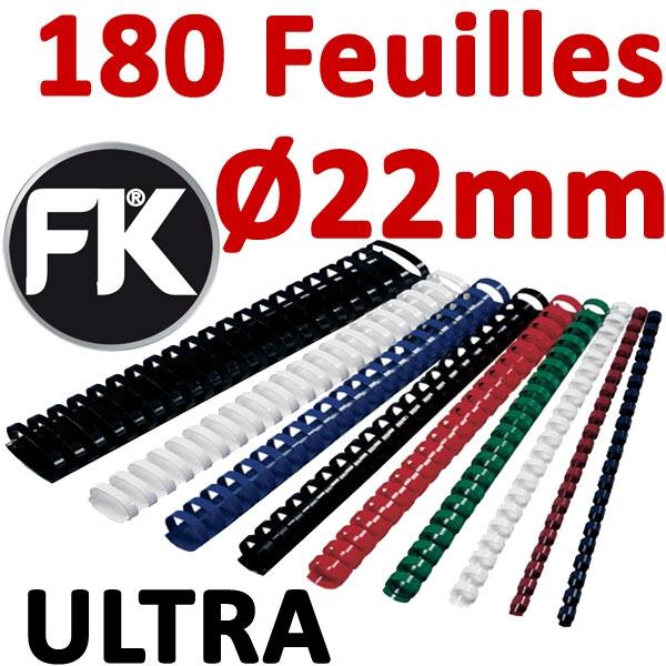 Marque ULTRA FALCONK # Ø 22mm de 151 à 180 feuilles #boite de 100pcs