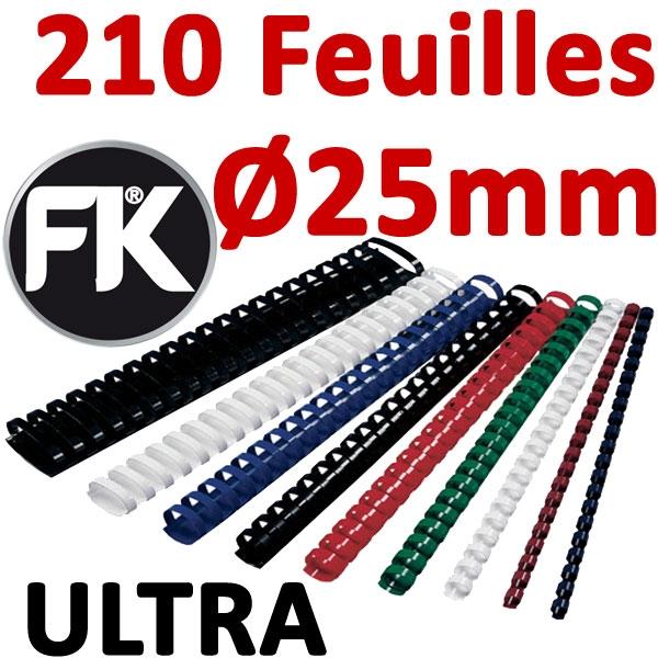 Marque ULTRA FALCONK # Ø 25mm de 181 à 210 feuilles #boite de 50pcs