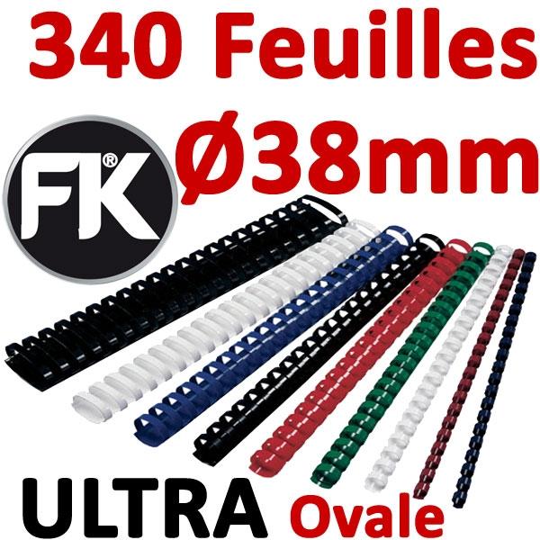 Marque ULTRA FALCONK # Ø 38mm de 281 à 340 feuilles, ovale#boite de 50pcs
