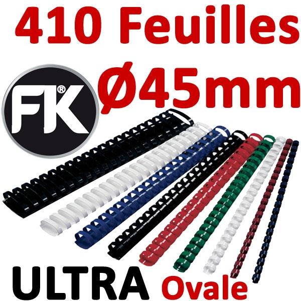 Marque ULTRA FALCONK # Ø 45mm de 341 à 410 feuilles, ovale#boite de 50pcs