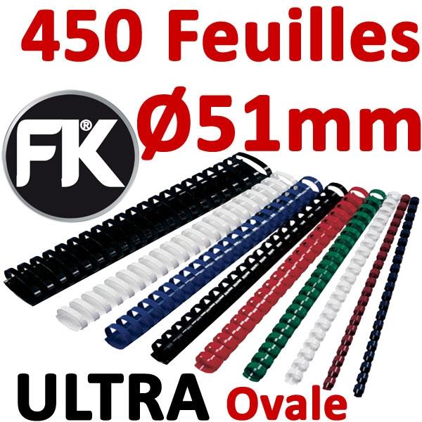 Marque ULTRA FALCONK # Ø 51mm de 411 à 450 feuilles, ovale#boite de 50pcs