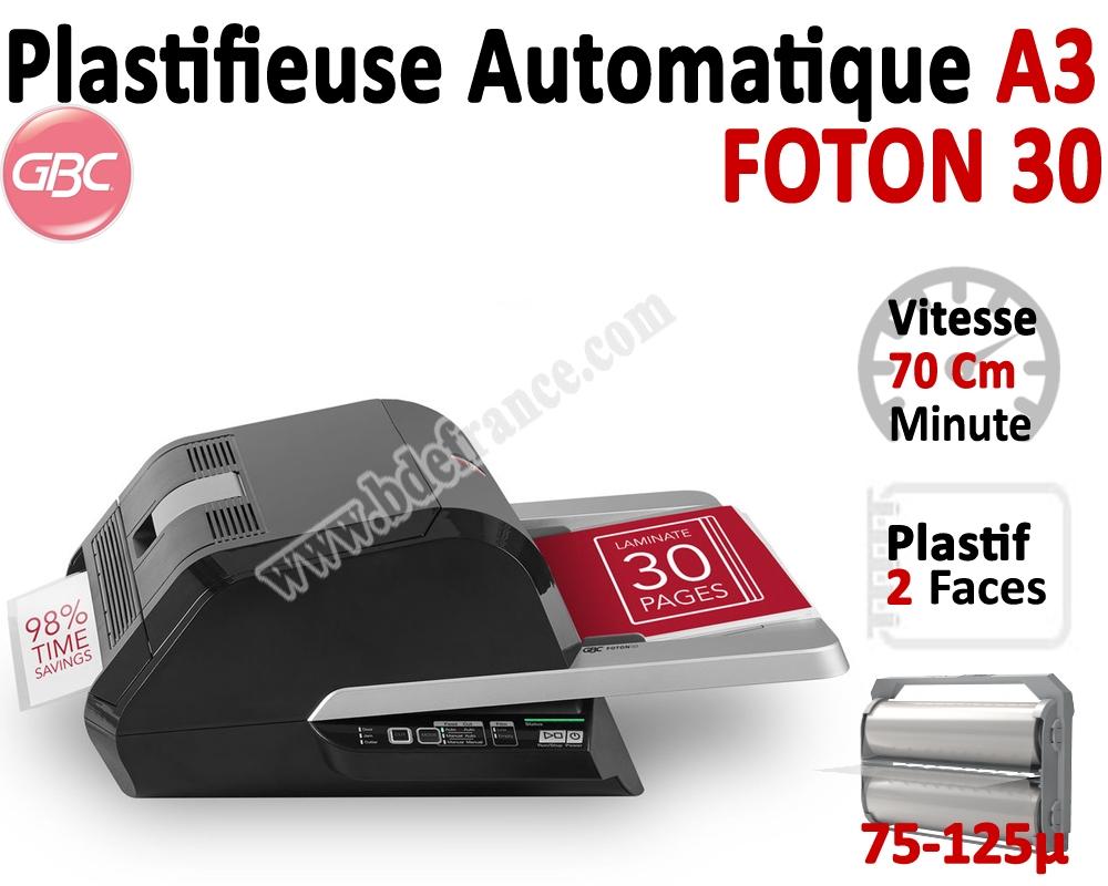 Plastifieuse à rouleaux A3 Foton 30 #Plastifieuse A3 entièrement automatique Vitesse 70Cm/ minute