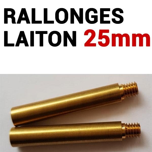 Rallonges Laiton 25 mm #  Boite de 50 pcs