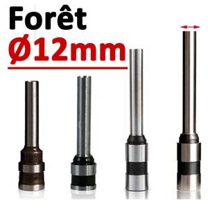 Foret Ø 12mm # Longueur 50mm#Par 1