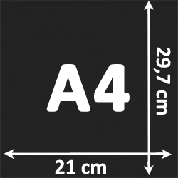 Format A4#Par 1 paquet
