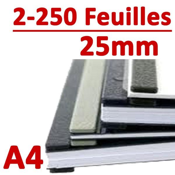 25mm A4 : 3 à 250 feuilles, 10 picots#Boite de 100pcs