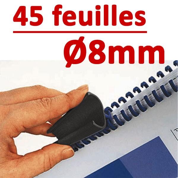 8mm de 11 à 45 feuilles #Boite de 50pcs