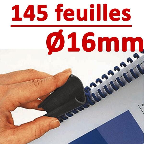 16mm de 96 à 145 feuilles #Boite de 50pcs