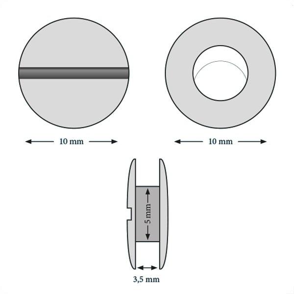 Vis 3,5 mm#Boite de 100 pcs