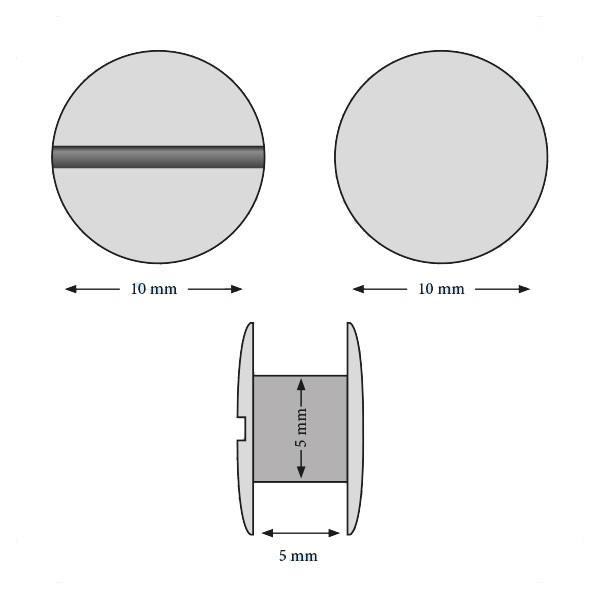 Vis 5 mm#Boite de 100 pcs