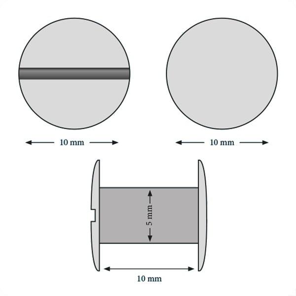 Vis 10 mm#Boite de 100 pcs