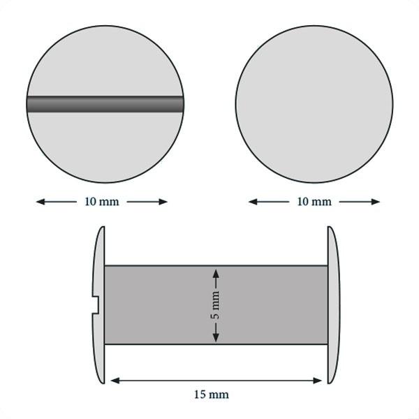 Vis 15 mm#Boite de 100 pcs