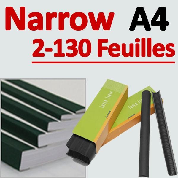 Narrow 500 Pcs # 2-130 feuilles A4