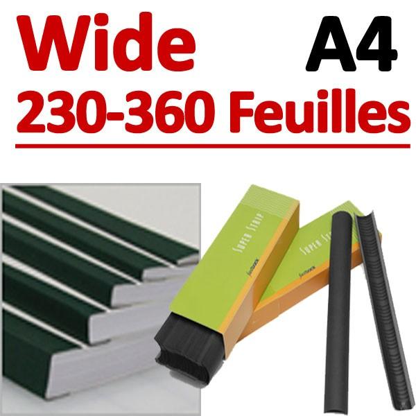 Wide 300 Pcs # 230-360 feuilles A4