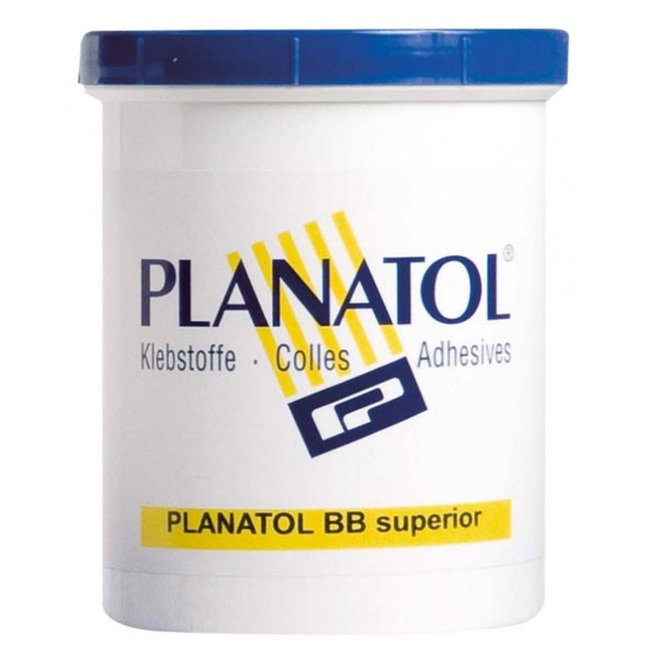 COBPB : PLANATOL BB SUP Colle à froid Blanc #Pour reliure et blocs à feuilles non détachables#Pot de 1.05Kg