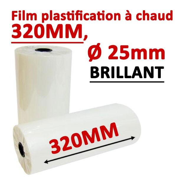 Rouleaux en 320mm, Ø 2.5cm brillant Numérique #Prix pour 2 rouleaux