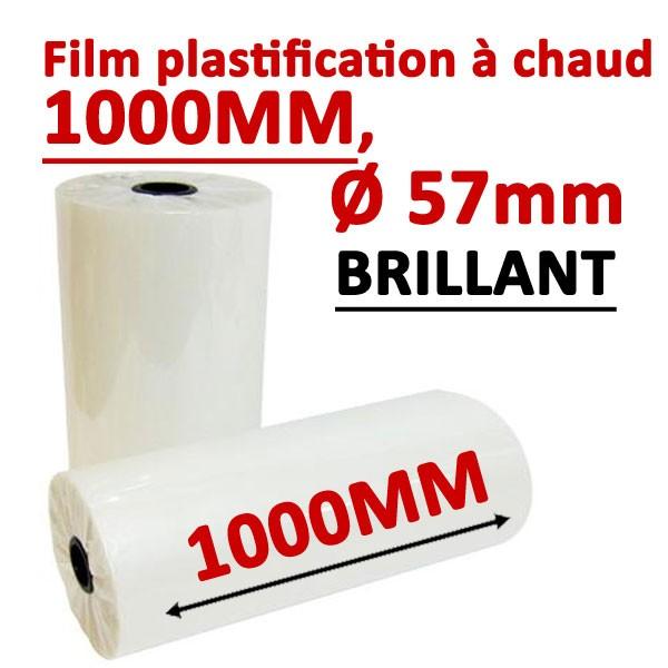 @Rouleaux en 1000mm, Ø 5.7cm brillant Numérique#Prix pour 2 rouleaux