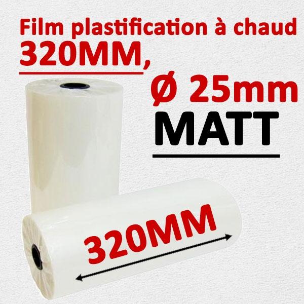 @Rouleau 320mm, Ø 2.5cm mat Numérique#Prix pour 2 rouleaux