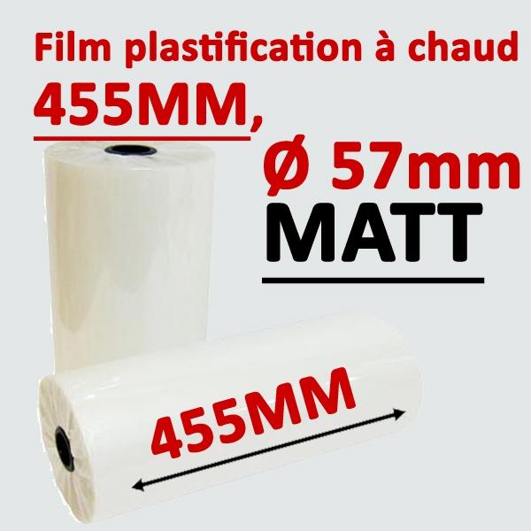 Rouleau 455mm, Ø 5.7cm mat Numérique#Prix pour 2 rouleaux