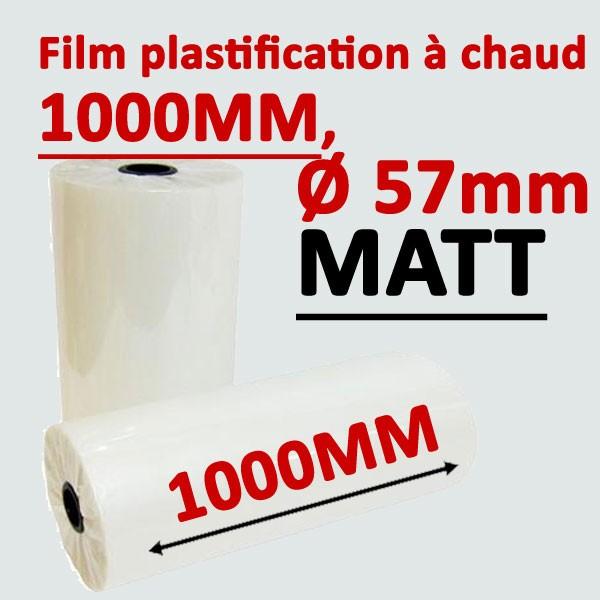 @Rouleau 1000mm, Ø 5.7cm mat Numérique#Prix pour 2 rouleaux
