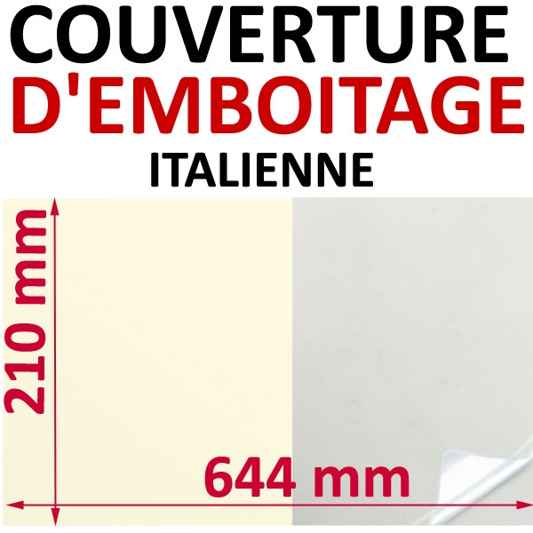 Format Italien#644 x 210 mm