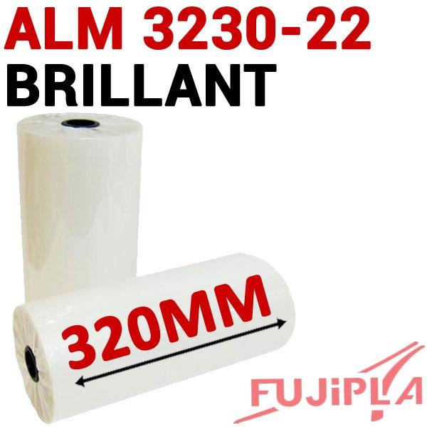 Rouleaux en 320mm Brillant#Pour ALM 3220-3222-3230# Boite de 2 rouleaux