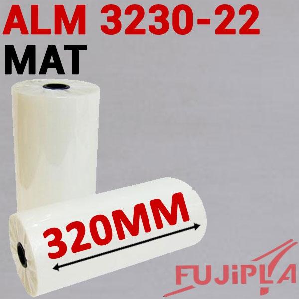 Rouleaux en 320mm MAT #Pour ALM 3220-3222-3230# Boite de 2 rouleaux