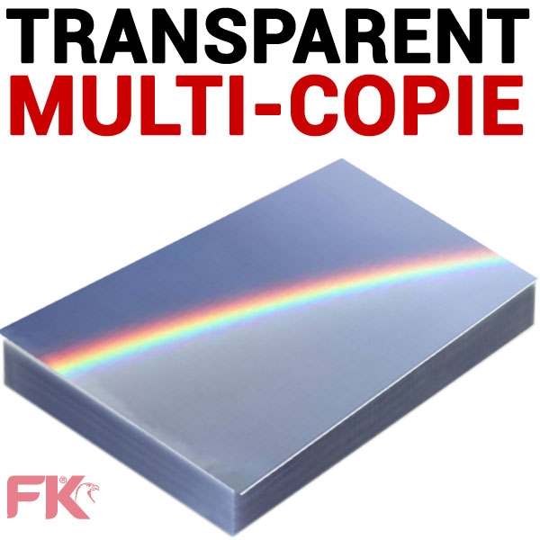 Transparent Multi copie, Laser, Copieur Noir & Blanc#Paquet de 100 feuilles