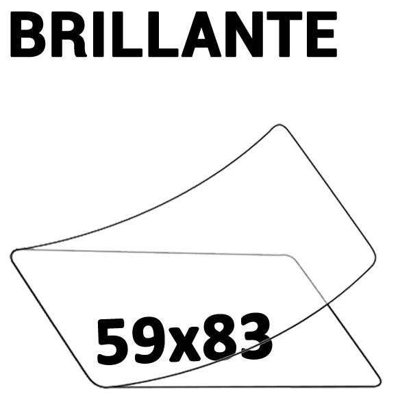 59 x 83  IBM 2 Faces Brillantes #Boite de 100 pièces