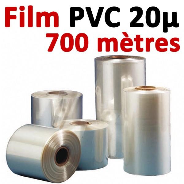 Film PVC 20μ #700 mètres