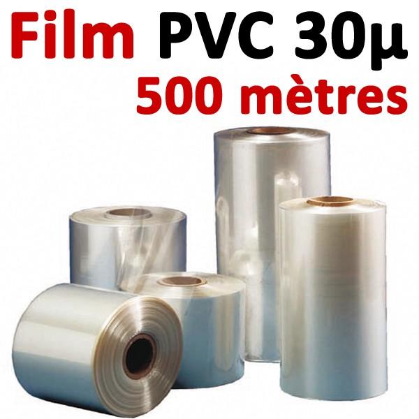 Film PVC 30μ#500 mètres
