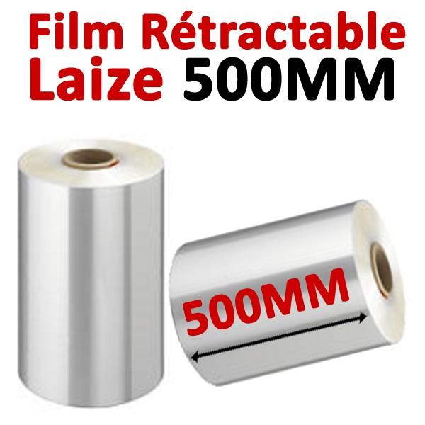 Film Rétractable #Laize 500 mm#Vendu Par 1