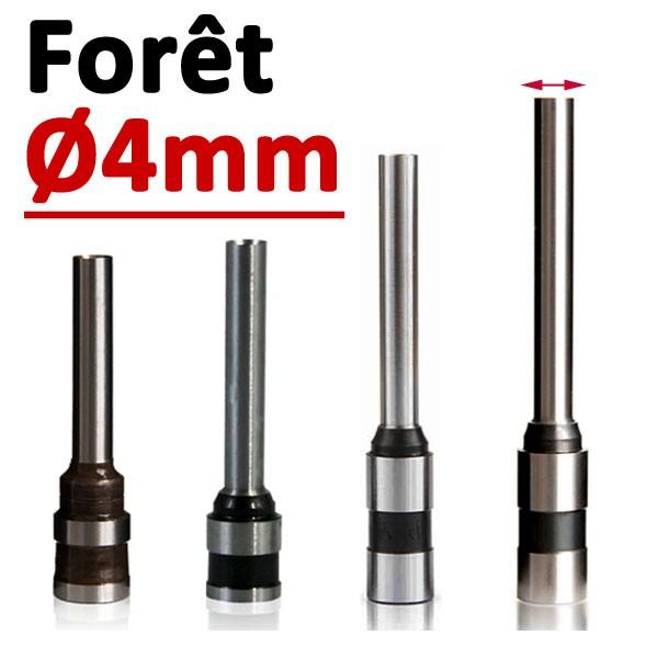 Foret Ø 4mm# Longueur 30mm#Par 1