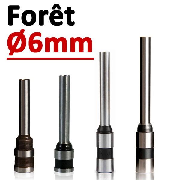 Foret Ø 6mm # Longueur 50mm#Par 1