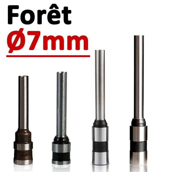 Foret Ø 7mm # Longueur 50mm#Par 1