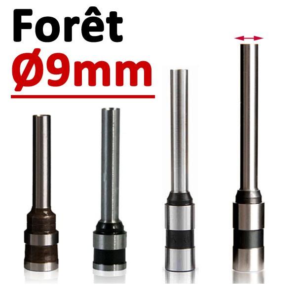 Foret Ø 9mm # Longueur 50mm#Par 1