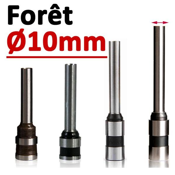 Foret Ø 10mm # Longueur 50mm#Par 1