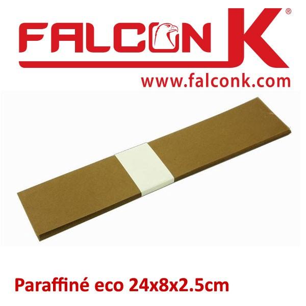 Paraffiné eco 24x8x2.5cm#Par 100 feuilles