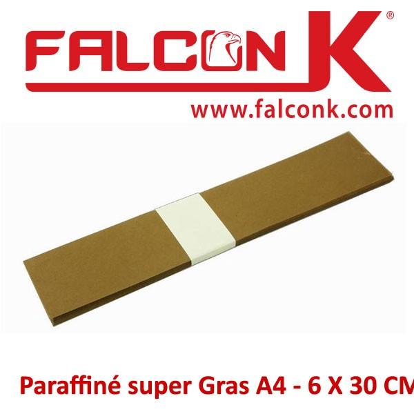 Paraffiné super Gras A4 - 6 X 30 CM#Par 100 feuilles