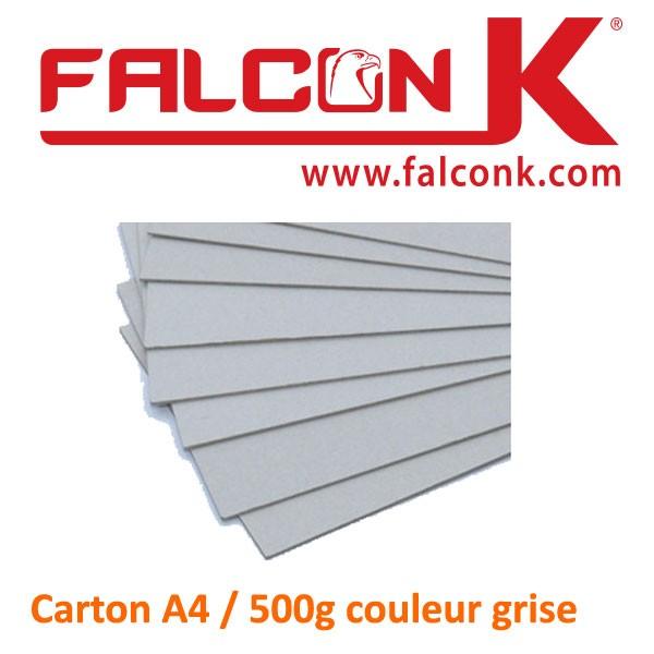 Carton découpe gris 1.5mm#Par 10
