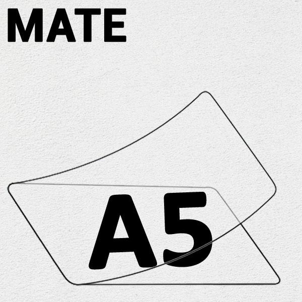 A5 (154mm x 216mm) 2 Faces Mates #Boite de 100 pièces